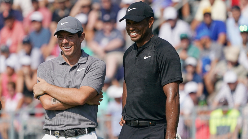 Tiger Woods, Rory McIlroy Will Reportedly Compete in Japan Skins Game article feature image