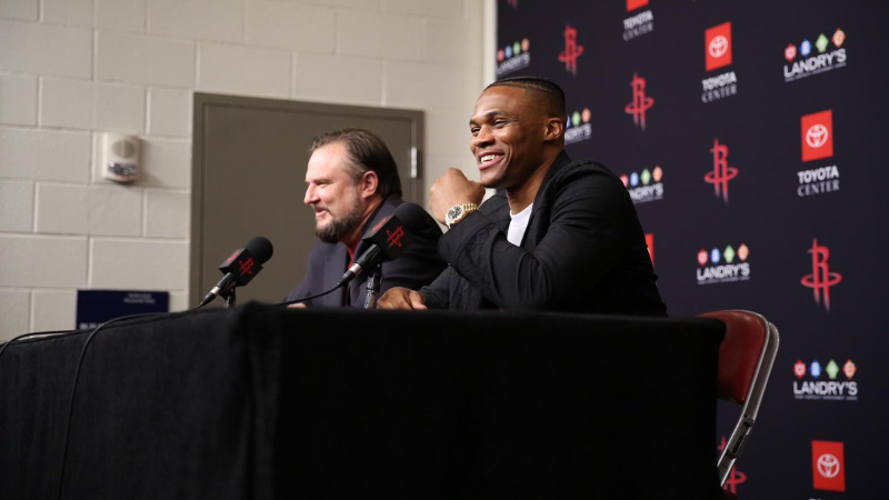 The Path to Success and Potential Danger of Russell Westbrook's Trade to Houston article feature image