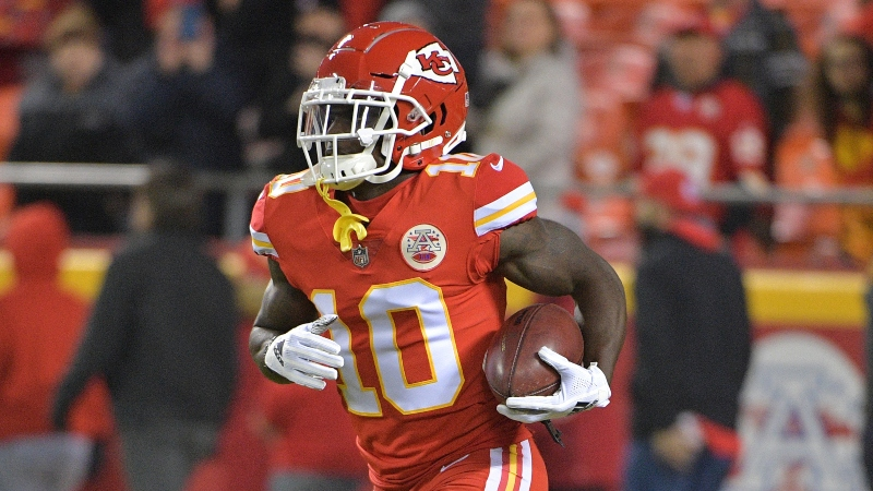 Tyreek Hill Injury News Affecting Chiefs-Jaguars NFL Week 1 Odds article feature image