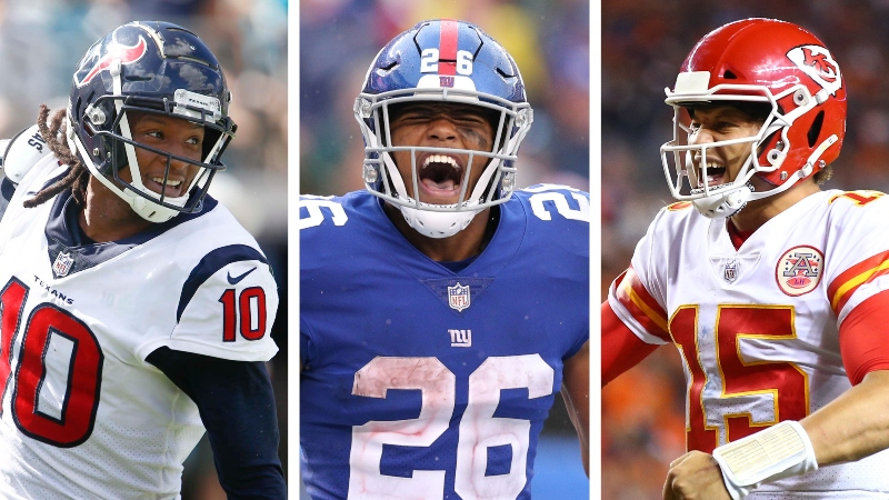 Week 1 Fantasy Football Rankings by Position: PPR, Standard, Half PPR article feature image