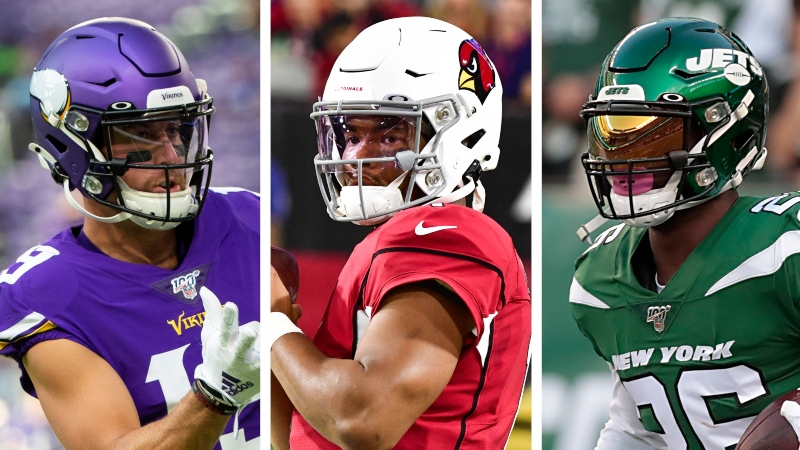 Koerner: The 12 Best NFL Player Props Based on My Projections article feature image