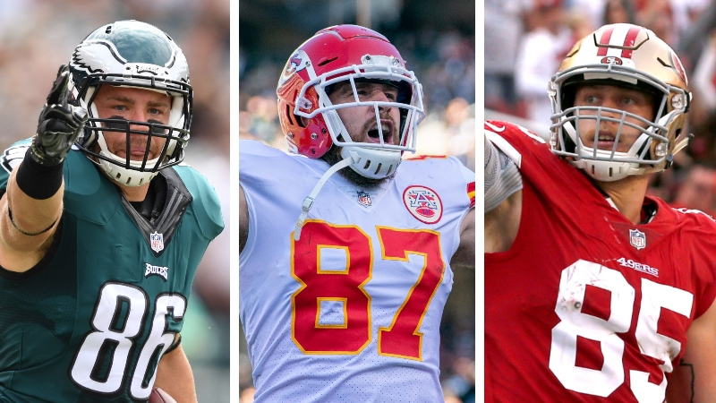 Koerner's Fantasy Football Tiers: TE Rankings and Draft Strategy article feature image