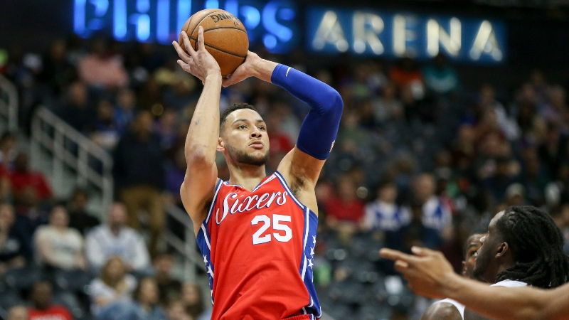Ben Simmons Hit a 3, Quickly Became Biggest MVP Liability at Two Sportsbooks article feature image
