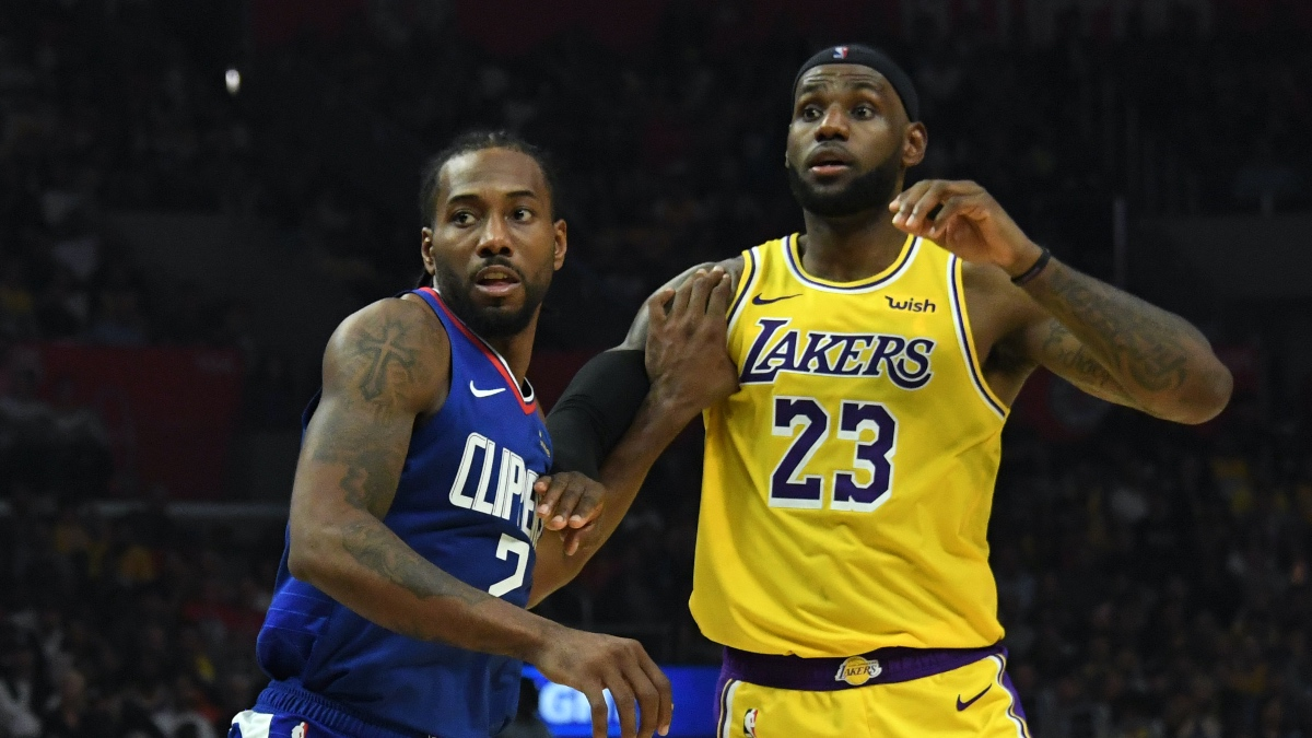 Updated NBA Western Conference Playoffs Odds: Lakers, Clippers Remain Significant Favorites article feature image
