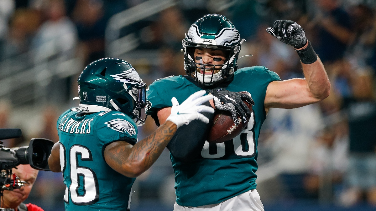NFL Wild Card Picks: How We're Betting Seahawks vs. Eagles article feature image