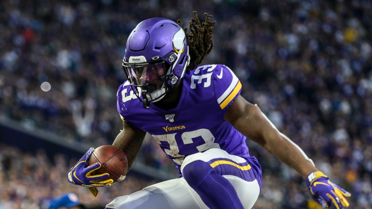 Divisional Round Fantasy Football Standard Rankings: RB article feature image