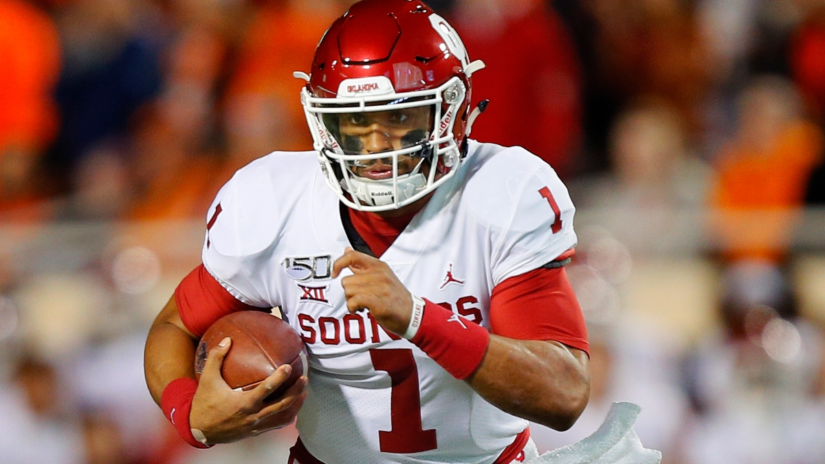 Jalen Hurts NFL Draft Odds: Round He'll Be Picked, Landing Spot, More article feature image