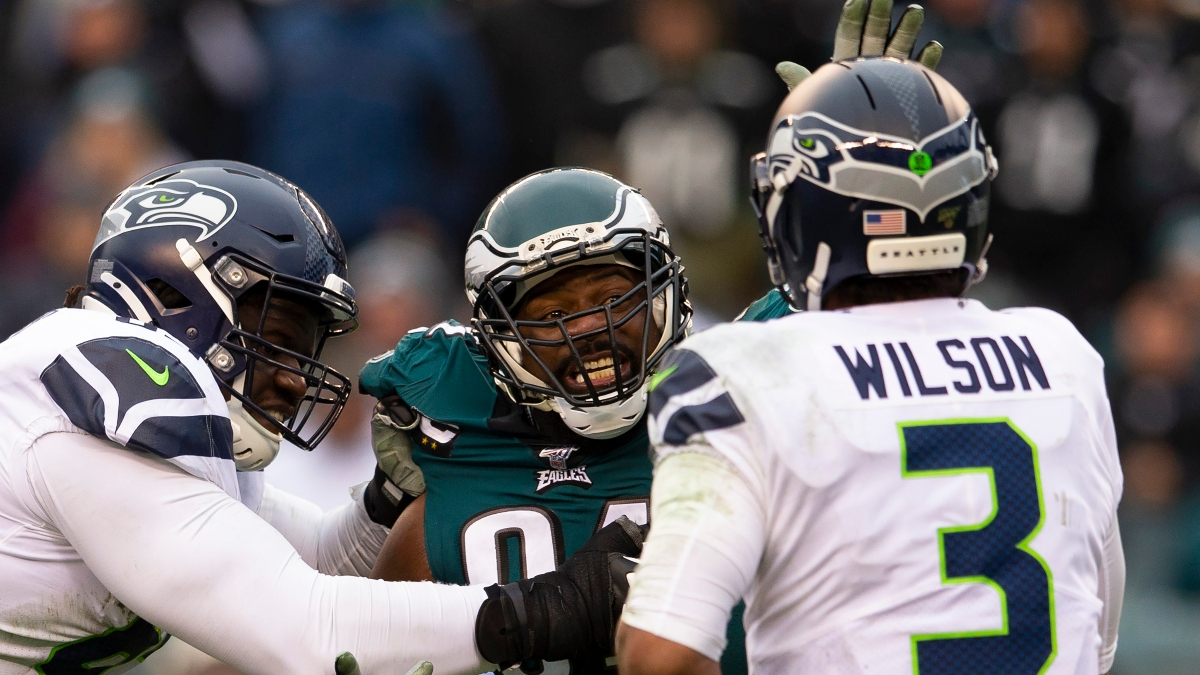 NFL Wild Card Betting Odds, Spreads, Lines, Over/Unders & Schedule for Seahawks Eagles, Titans-Pats & More article feature image