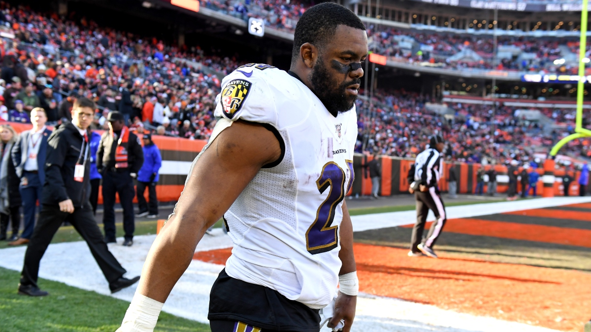 Titans vs. Ravens Injury Report: The Latest on Mark Ingram's Chances to Play in Divisional Round article feature image