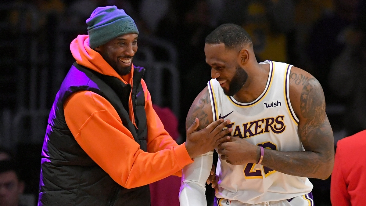 Wob: The Most Impressive Part of LeBron James Passing Kobe Bryant on the NBA's All-Time Scoring List article feature image