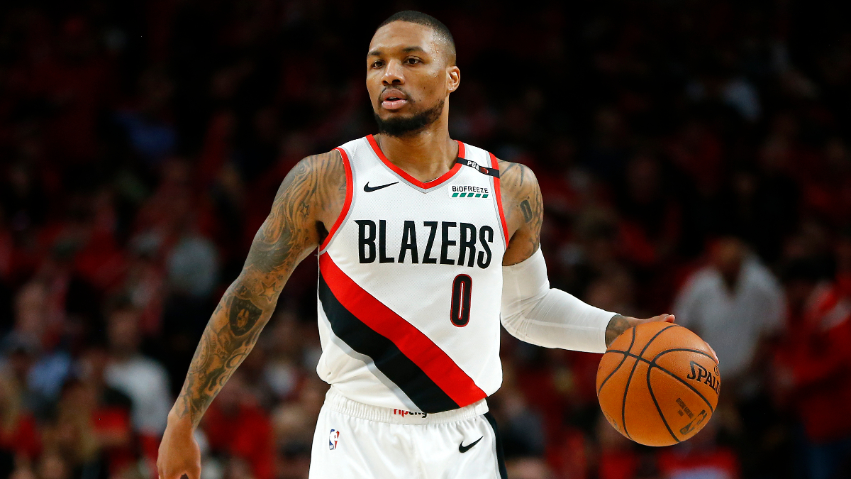 Saturday's Best NBA Player Props: Buy Damian Lillard vs. the Thunder article feature image