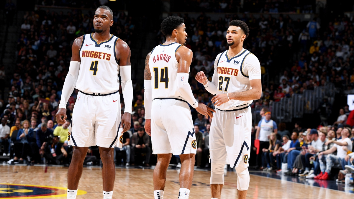NBA Predictions, Picks & Betting Odds (Thursday, Jan. 16): How to Bet Nuggets vs. Warriors With 3 Starters Out article feature image