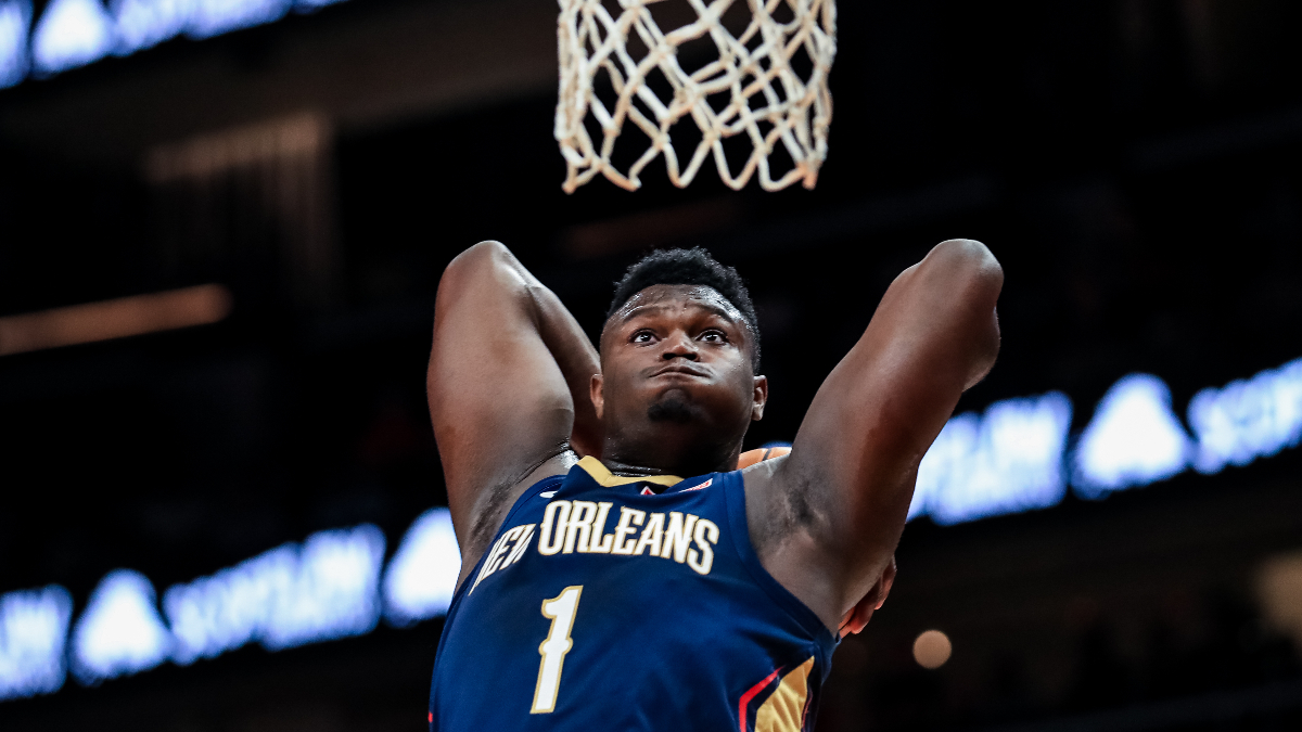 Wednesday's Best NBA Player Props & Betting Picks (Jan. 22): All In on Zion Williamson's NBA Debut article feature image