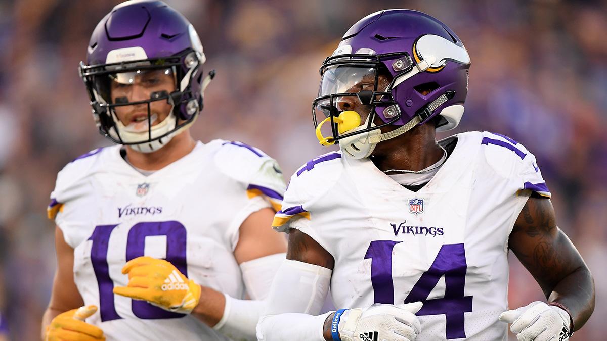 Vikings Vs 49ers Injury Report Stefon Diggs Adam Thielen Trending Toward Playing The Action Network