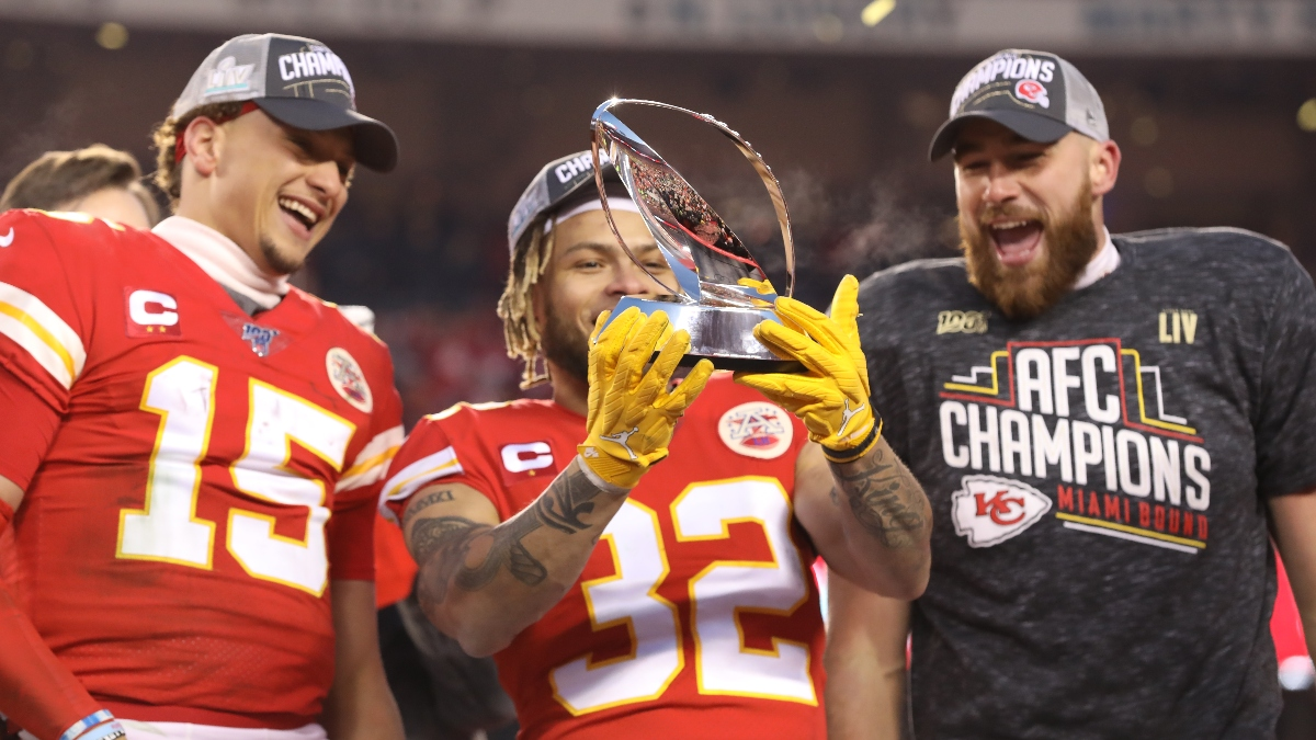Super Bowl 54 Betting Odds Updated Spread Over Under For 49ers Vs Chiefs The Action Network