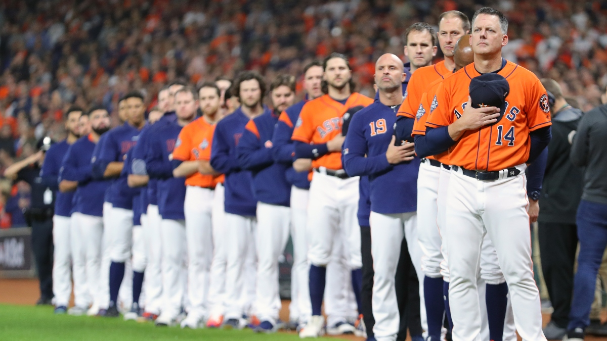 Zerillo: How the Astros' Discipline Affects the 2020 MLB Betting Landscape article feature image