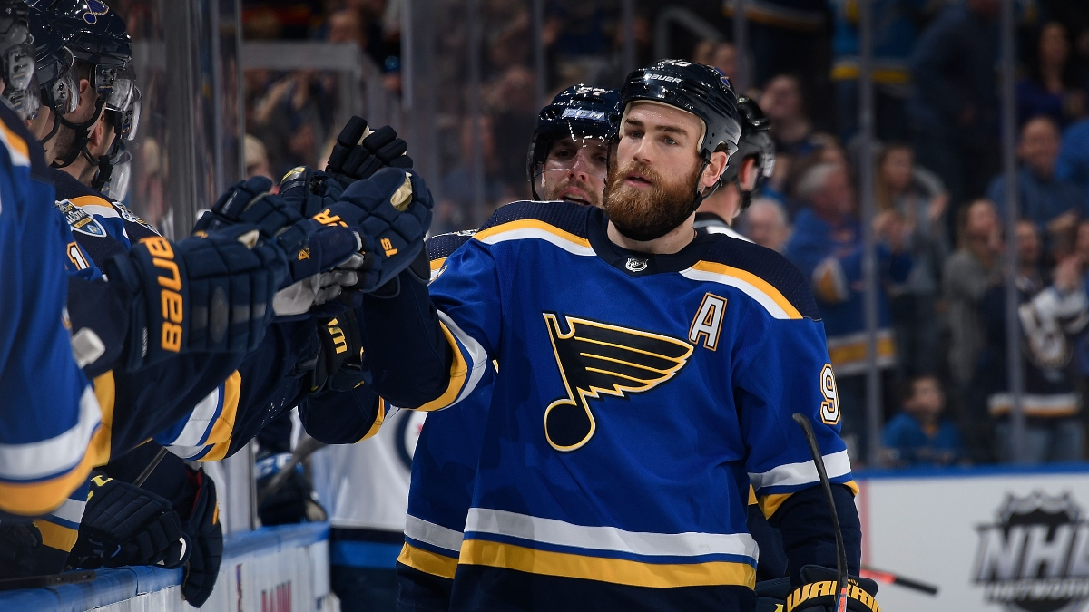 NHL Betting Notebook: The Best Candidate To Be This Season's St. Louis Blues article feature image