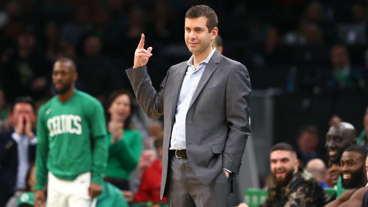 Moore's Saturday NBA Betting Picks & Angles: Consider Fading Kyrie and Brad Stevens article feature image