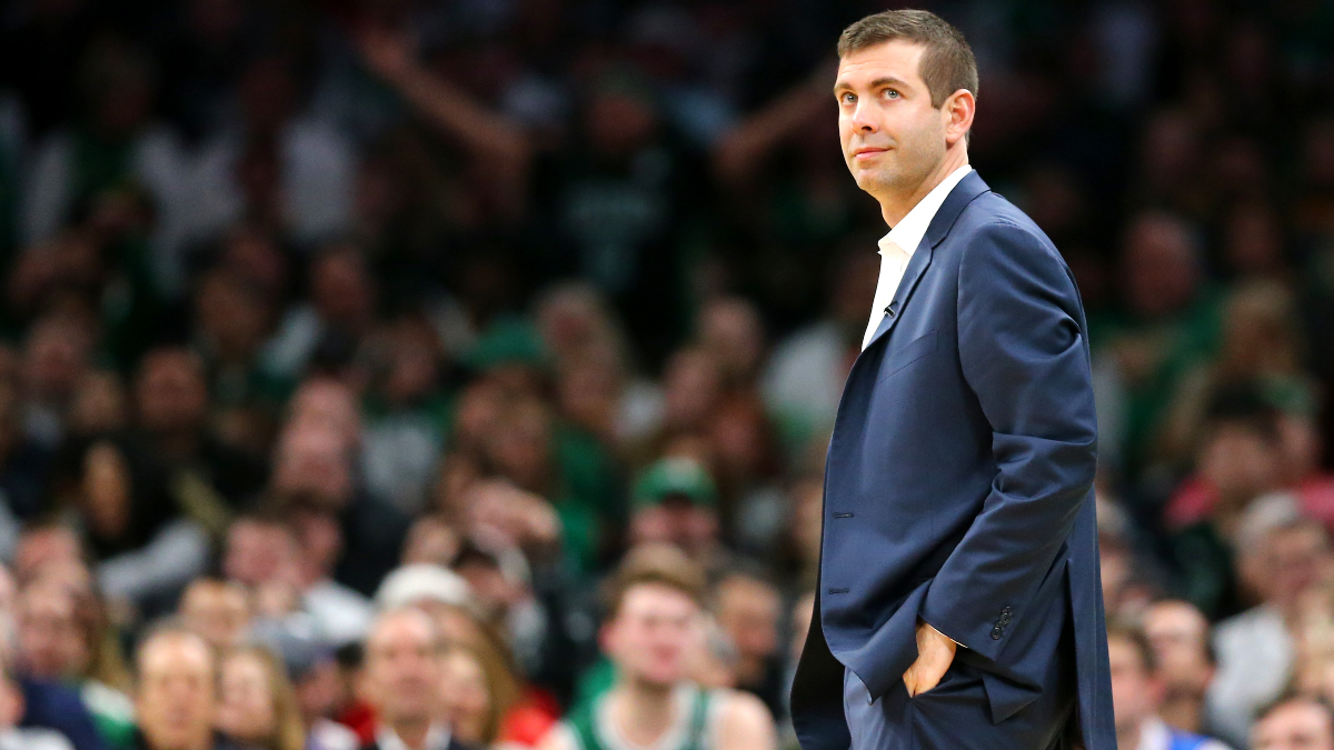Moore's Monday NBA Betting Picks & Angles: Brad Stevens Ain't Great as a Heavy Favorite article feature image