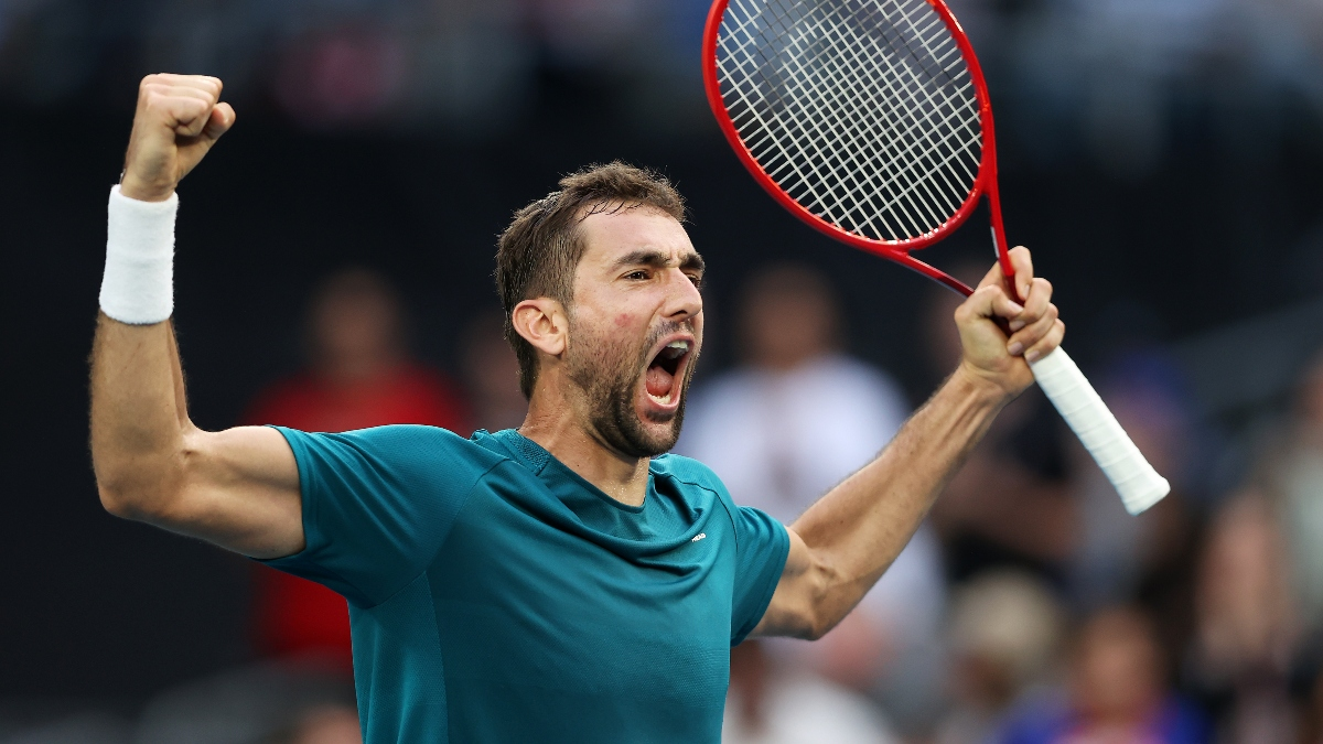 2020 Australian Open ATP Day 7 Betting Picks & Odds: Who Has the Edge in Cilic vs. Raonic? article feature image