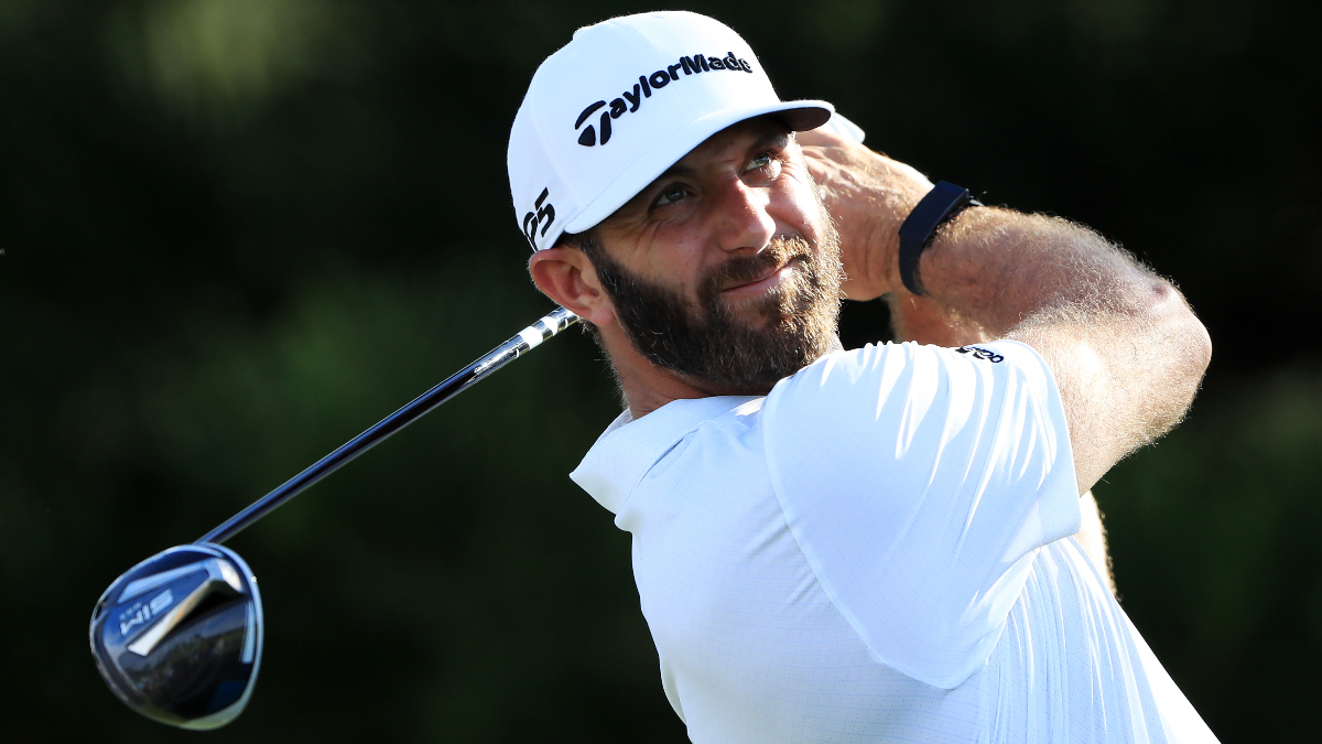 Sobel's Sentry Tournament of Champions Matchup & Outright Bets: Dustin Johnson Is Lurking in Round 2 article feature image