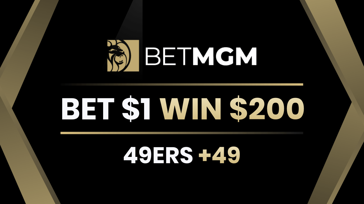Bet 49ers +49 vs. Packers & Win $200 at BetMGM article feature image