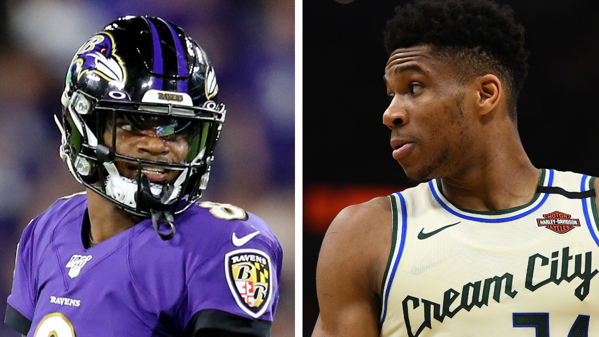 The Startling Parallels Between Giannis Antetokounmpo and Lamar Jackson article feature image