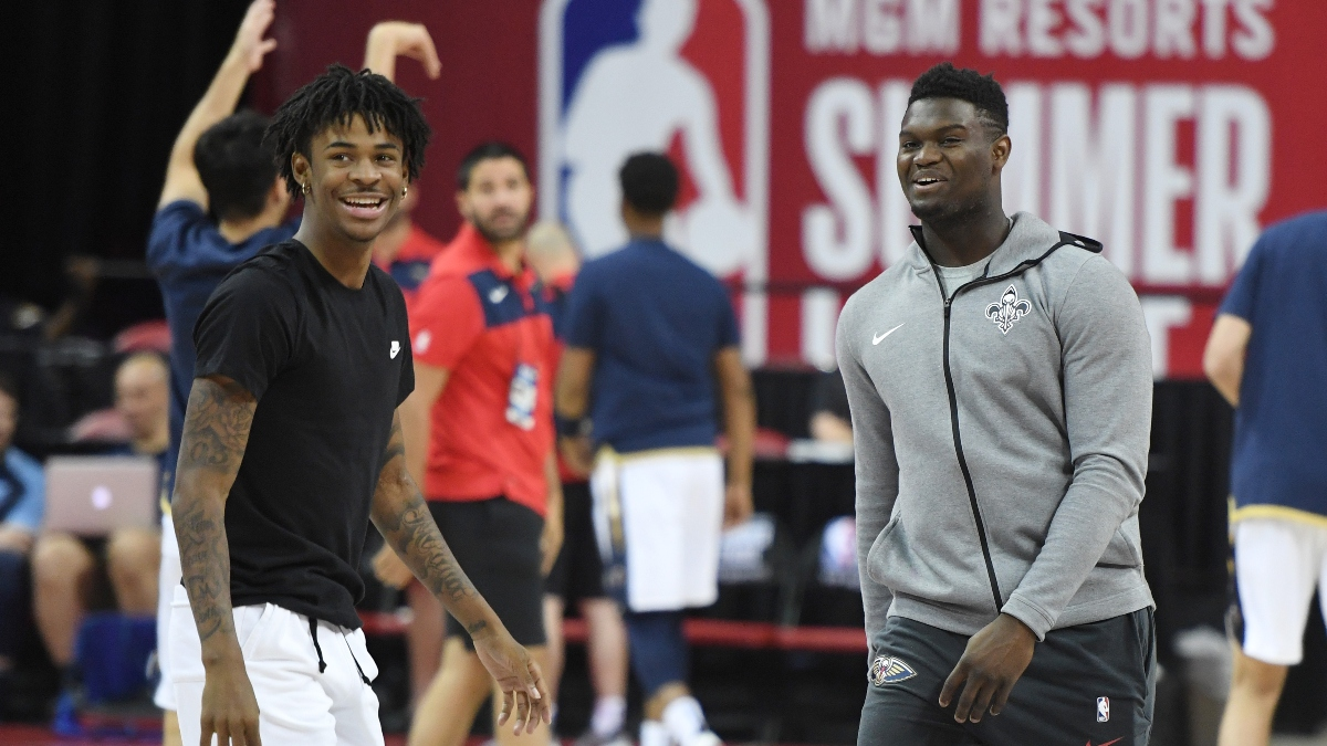 Grizzlies vs. Pelicans Sharp Betting Pick (Jan. 31): How Pros Are Betting Zion Williamson vs. Ja Morant article feature image