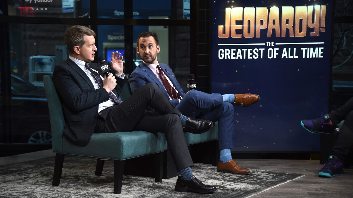 Jeopardy! GOAT Tournament Match 1 Recap: James Holzhauer Suffers Bad Daily-Double Luck article feature image