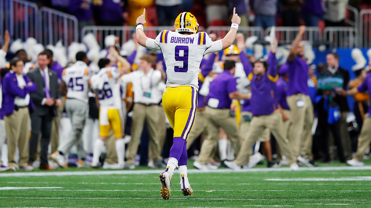 Get $200 at MGM if There's a Touchdown Scored in LSU vs. Clemson National Title Game article feature image