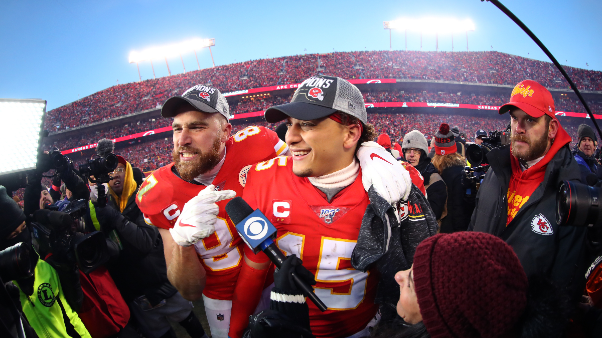 Super Bowl 54 MVP Winner, Odds: Patrick Mahomes Cashes for Bettors article feature image
