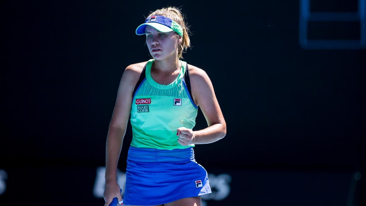 2020 Australian Open Final Odds and Betting Picks: Sofia Kenin vs. Garbine Muguruza article feature image