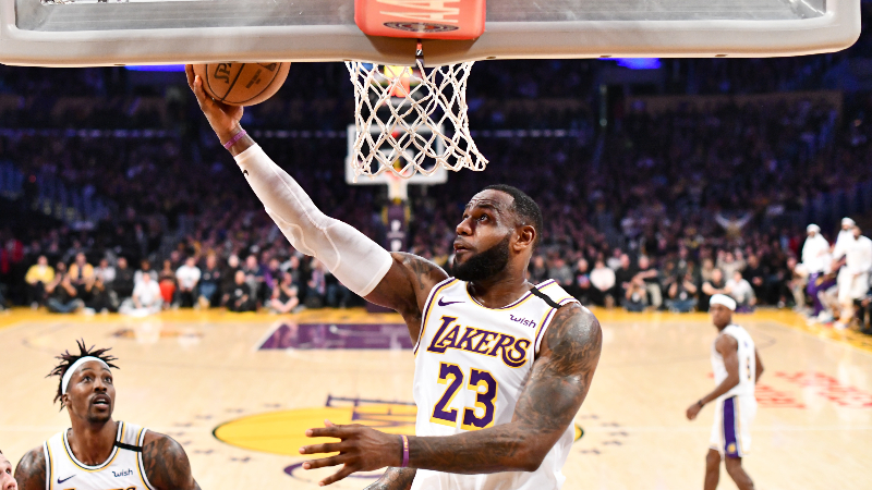 NBA Predictions, Picks & Betting Odds (Tuesday, Feb. 4): Will Spurs Protect Rim Enough Against Lakers? article feature image