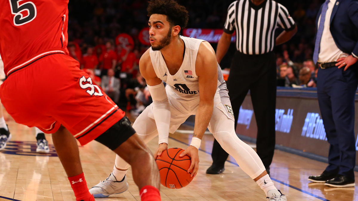 College Basketball Betting Picks: Our Staff's 5 Tuesday Best Bets (January 21, 2020) article feature image