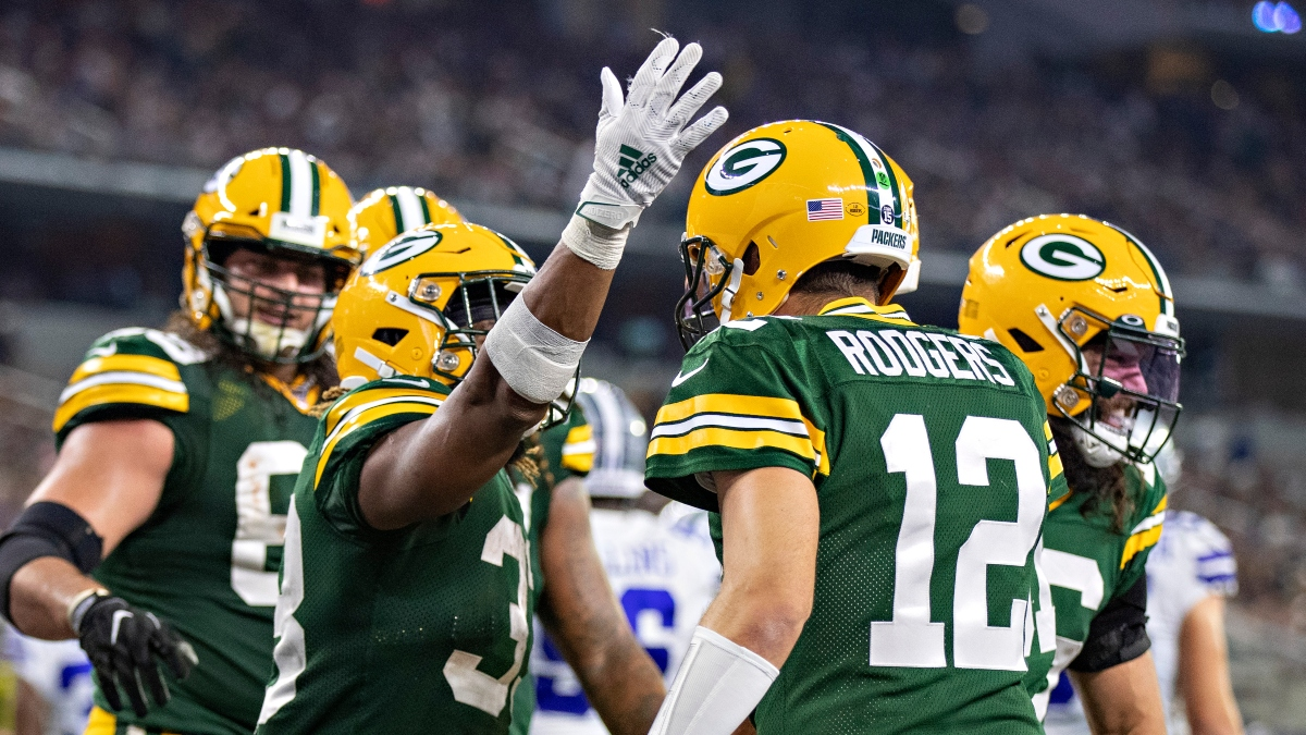 Koerner's Favorite NFL Divisional Round Props & Picks for Seahawks vs. Packers article feature image