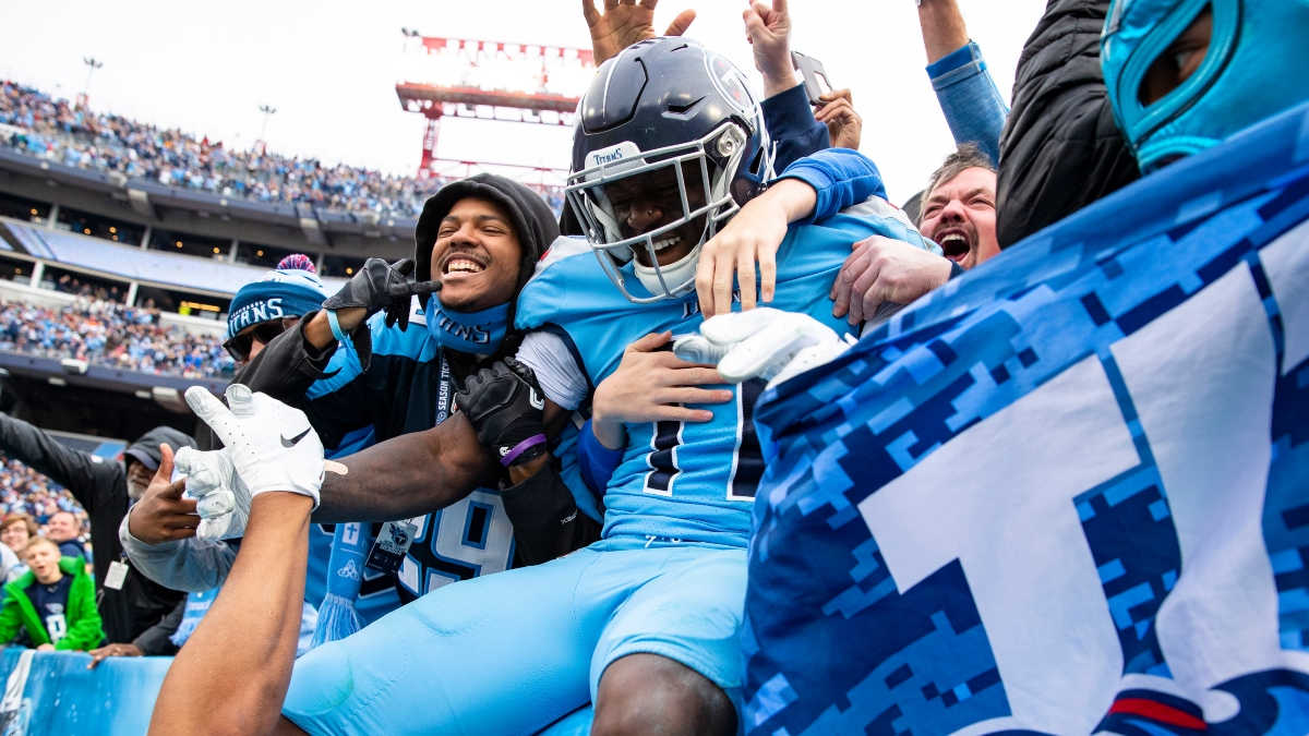 FanDuel Sportsbook Tennessee Specials: Double Dose of Titans Super Boosts vs. Bengals article feature image