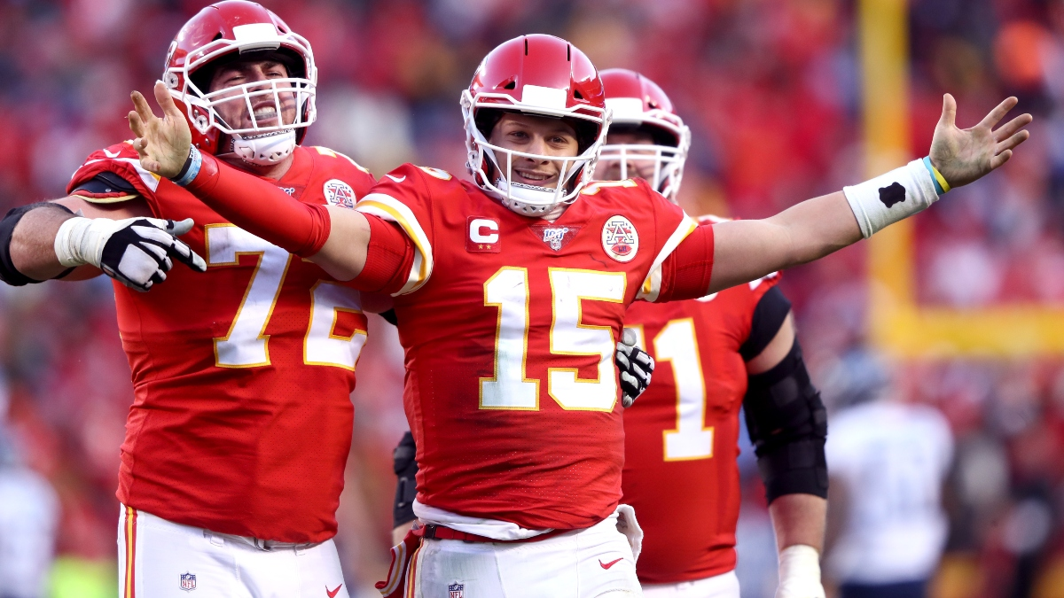 Super Bowl 54 MVP Odds: Patrick Mahomes Favored to Win Most Valuable Player article feature image