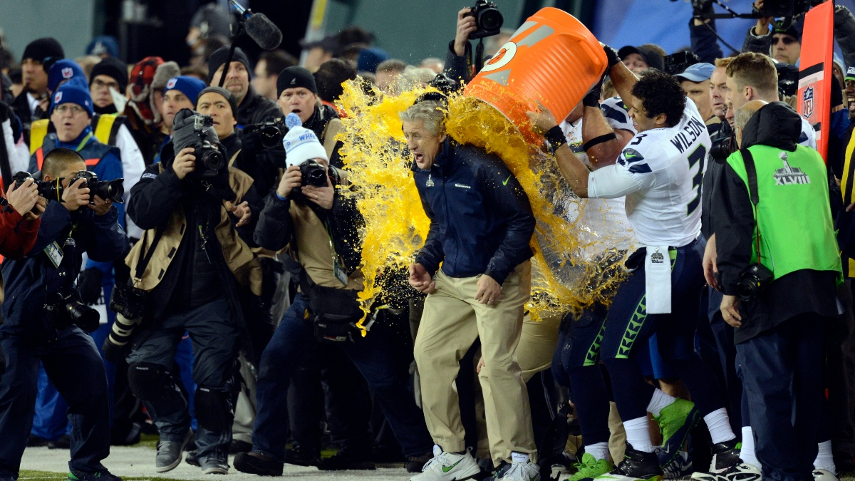 Super Bowl Gatorade Prop Bet Odds on the Move: Red Getting More Love as Kickoff Approaches article feature image