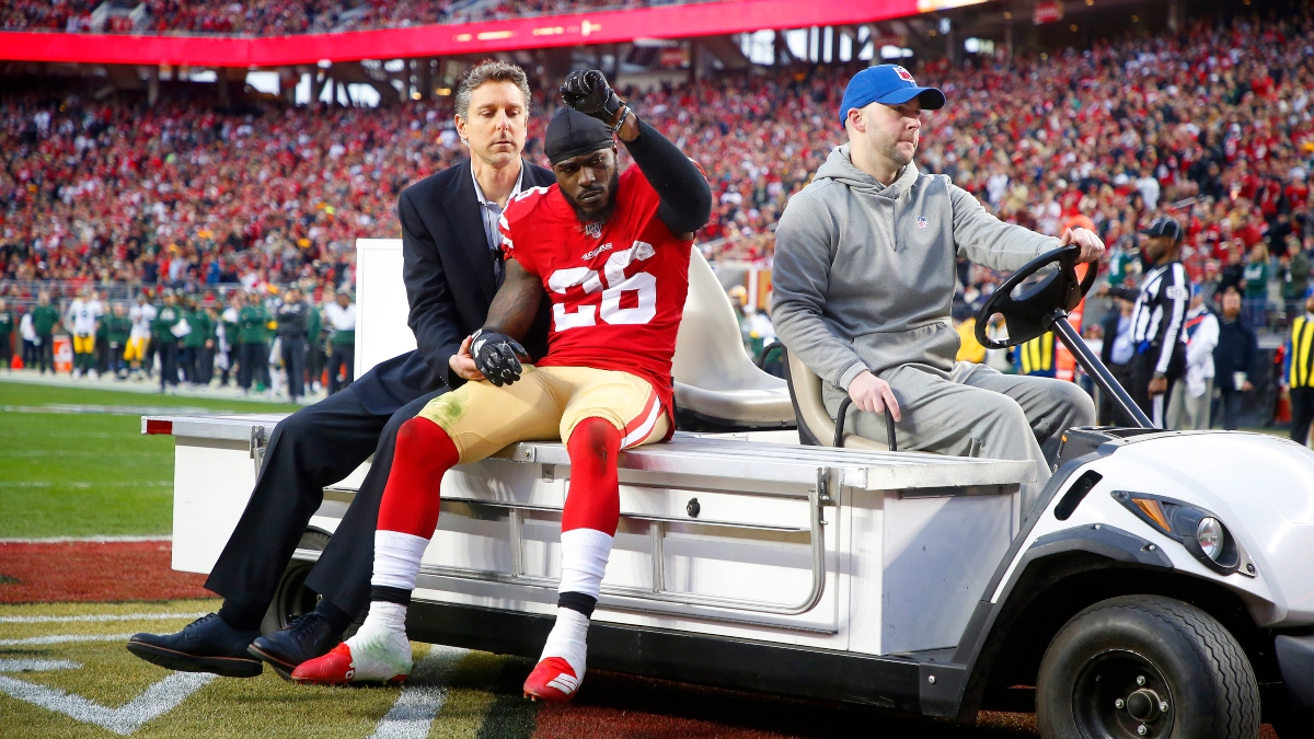 49ers vs. Chiefs Injury Report: Tevin Coleman Gets In Full Practice Friday Ahead of Super Bowl 54 article feature image