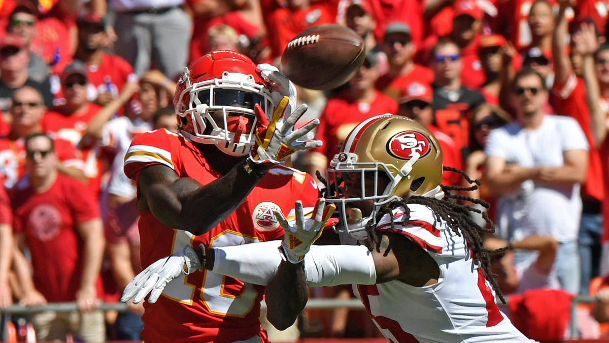 Grading Super Bowl WR/CB Matchups: Will Tyreek Hill Face Richard Sherman? article feature image