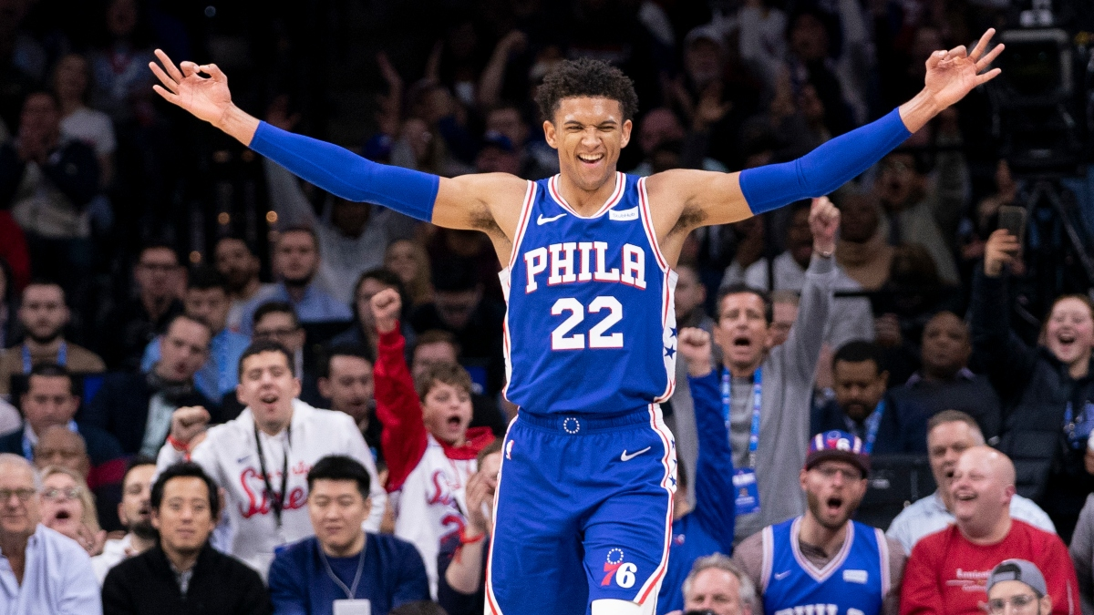 Philadelphia 76ers Standout Rookie Matisse Thybulle Is Already One of the NBA's Toughest Defenders article feature image
