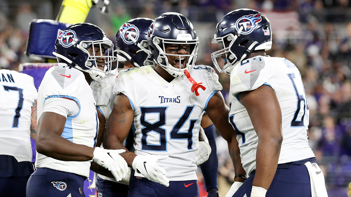Titans' Mega vs. Ravens Upset Hands Sportsbooks 'Biggest Win of the Season' article feature image