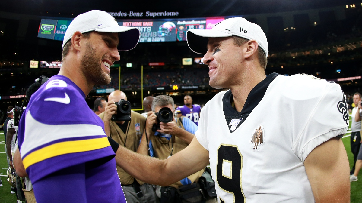 Vikings vs. Saints Odds & Picks: How We're Betting Sunday's NFC Wild Card Matchup article feature image