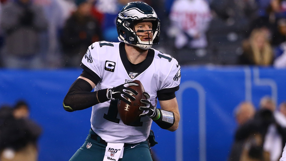 Freedman's NFL Wild Card Prop Betting Picks: Back Carson Wentz To Throw for the Most Yards? article feature image