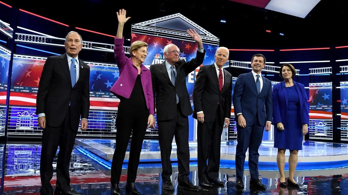Updated 2020 Democratic Primary Odds (Feb. 21): Bernie Sanders Favorite Over Bloomberg, Field Entering Nevada Voting article feature image