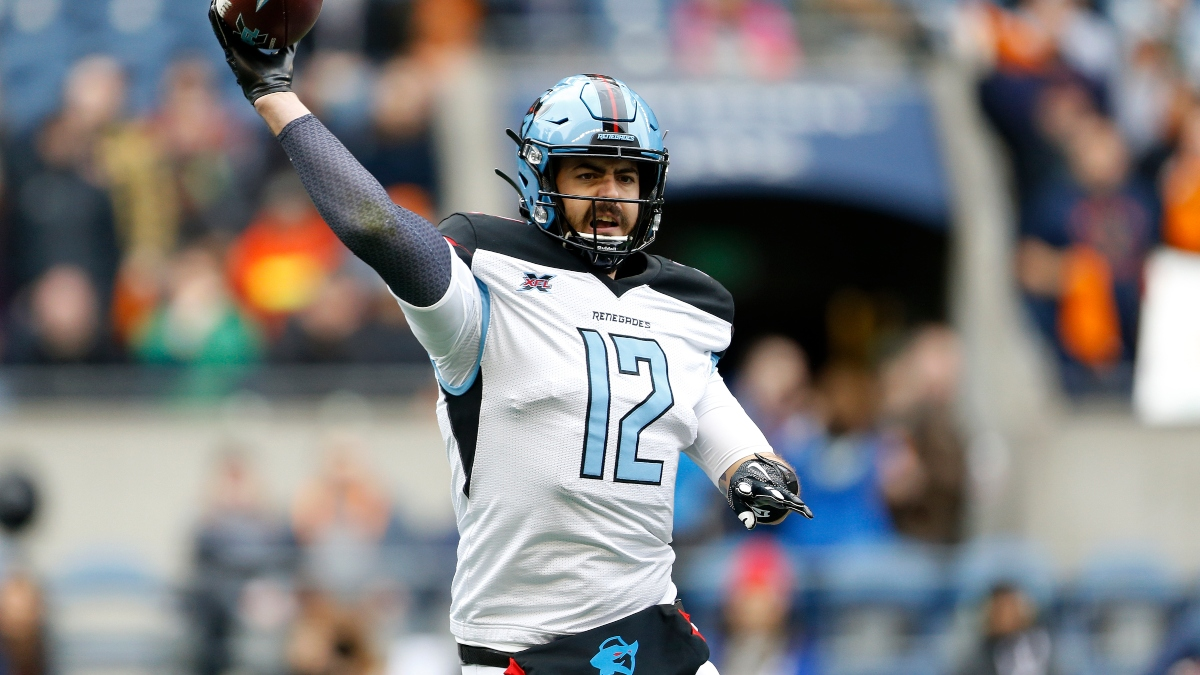 Houston Roughnecks vs. Dallas Renegades XFL Betting Odds, Pick & Analysis: Will Landry Jones Stretch the Field? article feature image