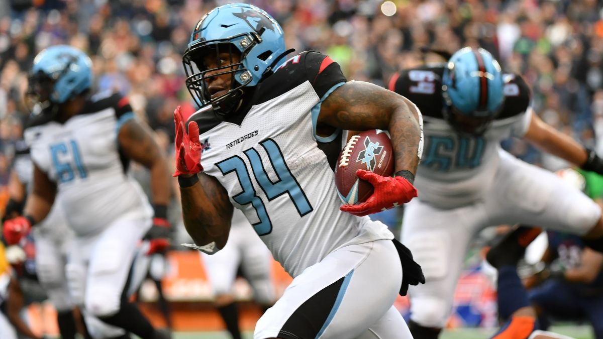 Week 4 XFL Picks: Our Best Bets for Roughnecks-Renegades & Defenders-Vipers article feature image