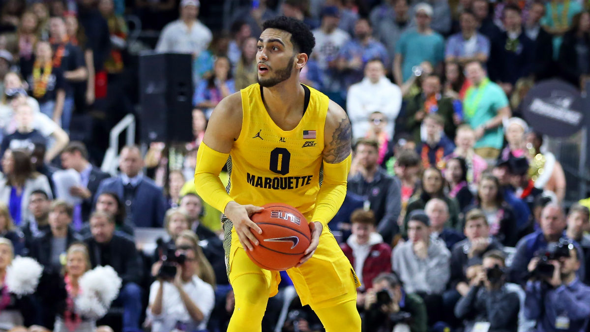College Basketball Picks, Betting Odds for Wednesday: Marquette vs. Georgetown & Army vs. Holy Cross article feature image