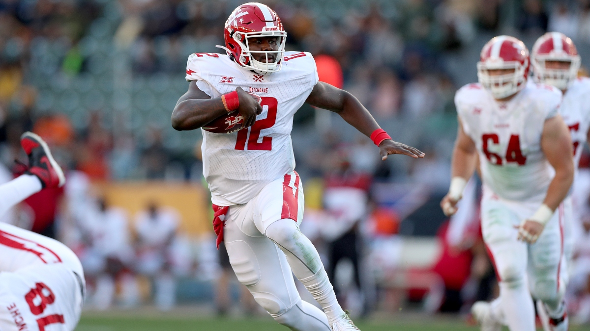 DC Defenders vs. Tampa Bay Vipers XFL Betting Odds, Pick & Analysis: Will Cardale Jones Bounce Back? article feature image