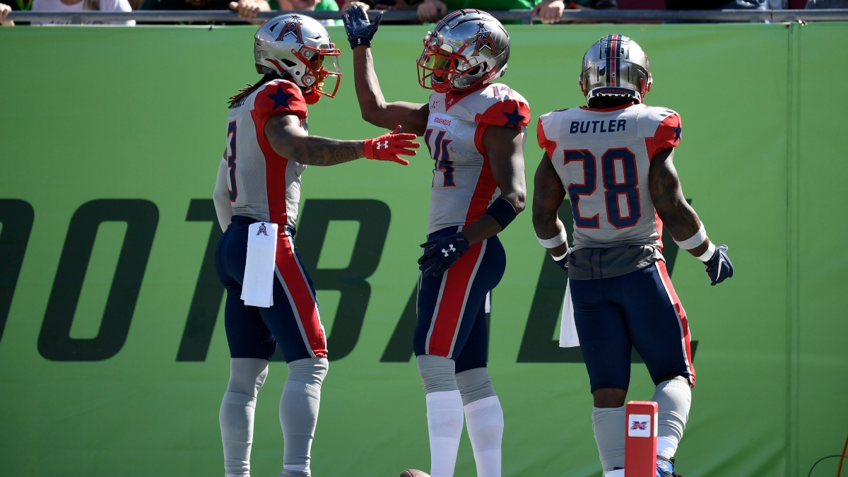 Week 4 XFL Betting Power Rankings: Projected Spreads & Over/Unders For Every Game article feature image